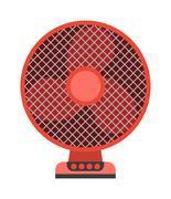 Ceiling fan vector illustration Stock Illustration