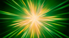 Green and Yellow Blast Background Stock Footage