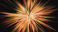 Orange Lines Blast Background Stock Footage