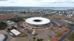 Aerial Olympic Stadium Brasilia - DF Stock Footage