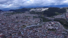 Towards the East of Quito Stock Footage