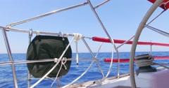 Israel. Ship,s wheel. Stock Footage