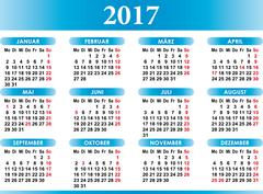 Deutsch Kalender 2017 German Calendar Piirros