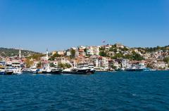 Istanbul outer suburbs view Stock Photos