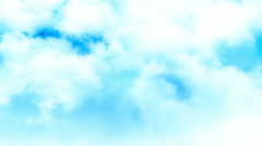 Heavenly Cloud Animation Stock Footage