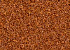 Granules of instant coffee background Stock Photos