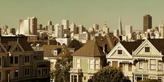 San Francisco skyline - stock photo