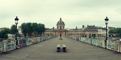 Pont des Arts Stock Photos
