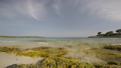 Menorca Son Saura. Bellavista beach. Balearic islands Stock Footage