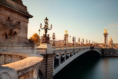 Paris Alexandre III - stock photo