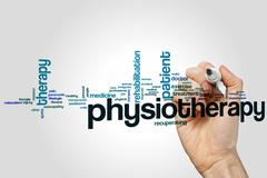 Physiotherapy word cloud Piirros