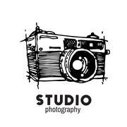 Camera photography vector illustration. Stock Illustration