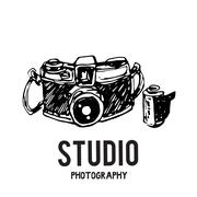 Camera photography vector illustration. Piirros