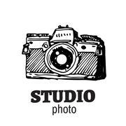 Camera photography vector illustration. - stock illustration