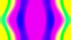 Flashing Psychedelic Retro 60s Kaleidoscope Lightshow VJ Motion Loop 3 Stock Footage