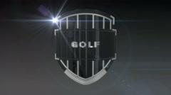 Golf - Chrome Stock Footage