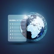 Global Networks - EPS10 Vector for Your Business Stock Illustration