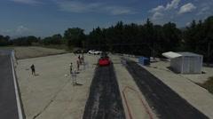 Drag race start - Serres Circuit Stock Footage