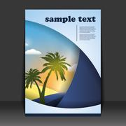 Flyer or Cover Design Stock Illustration
