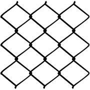 Metal Mesh Fence - stock illustration