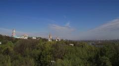 Kiev-Pechersk Lavra Timelapse Stock Footage
