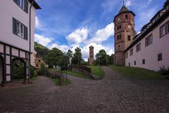 Cloister calw in black forest Stock Photos