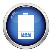 Gas boiler icon Stock Illustration