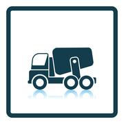 Icon of Concrete mixer truck Stock Illustration