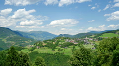 Amazing landscape at Italian South Tyrol Stock Footage