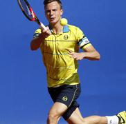 Hungarian tennis player Marton Fucsovics Stock Photos
