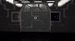 Sci Fi Hatch - stock footage