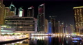 5K Dubai Marina night time lapse, United Arab Emirates 4k or 4k+ Resolution