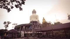 Big Buddha Statue, Phuket Thailand 4K Stock Footage