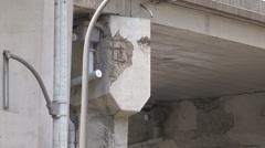 Toronto crumbling Gardiner expressway highway infrastructure Stock Footage