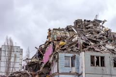 Demolition House. - stock photo