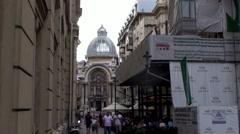 Bucharest City Centre - stock footage