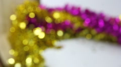 Bokeh background Soft-focus blurred Stock Footage
