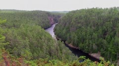 Barron Canyon - Algonquin Park Stock Footage