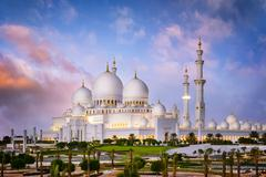 White Mosque - stock photo
