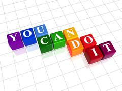 you can do it in colour - stock illustration