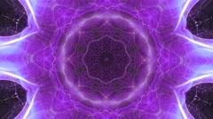 Purple Kaleidoscope Explosion Vj Loop Stock Footage