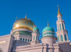 Moscow Cathedral Mosque in Russia - stock photo