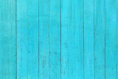 The old blue wood texture with natural patterns Stock Photos