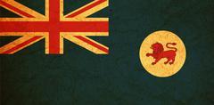 Tasmania territory flag Stock Illustration