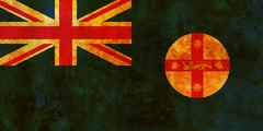 New south wales territory flag Stock Illustration