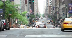 Madison Avenue in Manhattan New York City 4K Stock Video Stock Footage