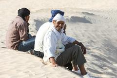 Bedouins in Sahara Stock Photos