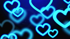 Beautiful valentine background Stock Footage