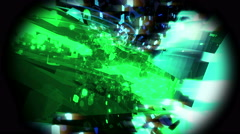 Glowing Scraps Stock Footage