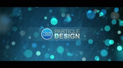 Particle Design - stock after effects